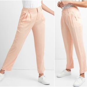 GAP Pleated Drapey Trouser - Pink - 00
